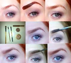 brow tutorial for redheads pictorial eyebrow grooming 101