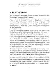 Writing PhD Thesis Acknowledgements READ MORE