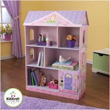 Kids Room Bookcase by Furniture White Wooden Dollhouse Bookcase For Kids Room Furniture