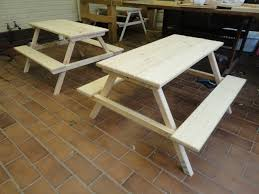 Free Wooden Picnic Table Plans by 50 Free Diy Picnic Table Plans For Kids And Adults