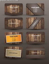 Business Card Eps Template High Grade Round Wood Texture Business Card Design Template Eps