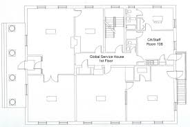 Common House Floor Plans by Global Service House Washington And Lee University