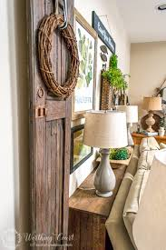 How To Decorate Your Dining Room Table How To Build A Rustic Sofa Table Worthing Court