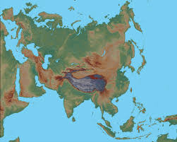 Physical Map Of South America by Physical Map Of Asia Asia Political Map Geology Com