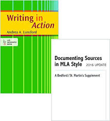 ISBN                 Writing In Action With      MLA Doc    th     Direct Textbook
