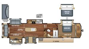 Fifth Wheel Bunkhouse Floor Plans Michigan North Point Rv Dealer North Point Rv Sales
