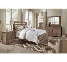 bedroom wood floors and area rug with badcock furniture bedroom