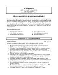 Sales Manager Sample Resume by Sales Manager Cv Example Free Cv Template Sales Management Jobs