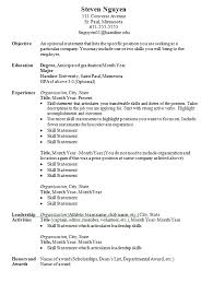 Cover Letter For Resume Examples For Students by Resumes And Cover Letters Career Development Center Hamline