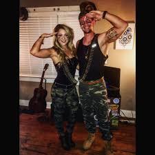 easy homemade couples halloween costume ideas gi joe u0026 gi jane couple costumes perfect for halloween