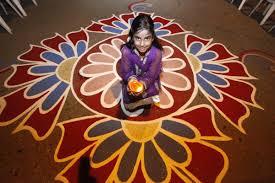 Diwali Decoration In Home Top 20 Easy Rangoli Designs That Kids Can Make This Diwali