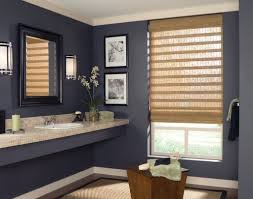 bathroom silhouette bathroom window treatments over tub with bathroom exceptional upholstered bathroom window treatments with dark blue wall bathroom window coverings brisbane
