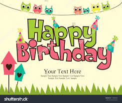 Printable Invitation Card Stock Card Invitation Design Ideas Happy Birthday Card Design Vector