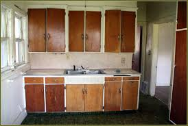 before kitchen have old kitchen cabinets on with hd resolution