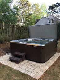 backyard planning hotspring spas