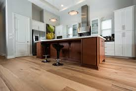 Hardwood In Kitchen by Wire Brushed Natural Hickory Ability Wood Flooring