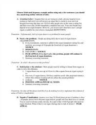 For Middle School Persuasive Speech Outline Template