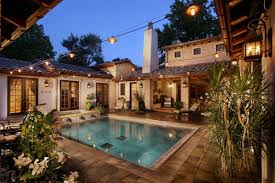 courtyard house plans with pool home design inspiration