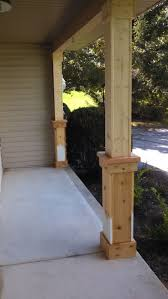 Side Porch Designs by Best 25 Front Porch Posts Ideas On Pinterest Front Porch