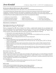 The Best Resume In The World by Restaurant General Manager Resume Berathen Com