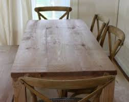 wood dining table etsy