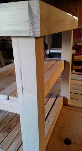 Reclaimed Kitchen Islands Reclaimed Pallet Kitchen Island Table Pallet Furniture Diy