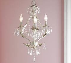 White Shabby Chic Chandelier by Light My World Chandeliers Nursery And Bedrooms
