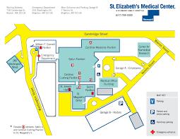 directions u0026 campus map st elizabeth u0027s medical center