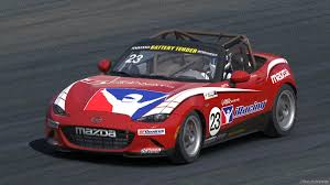 mazda mx series mazda mx 5 racer glenn mcgee crosses over to reality iracing com