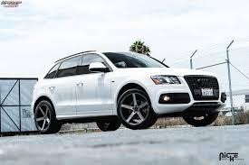 Audi Q5 Black - audi q5 niche milan m134 wheels black u0026 machined with dark tint