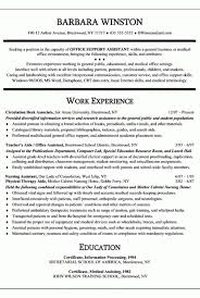 Medical Office Assistant Resume Examples by Medical Assistant Resume Summary U2013 Resume Examples