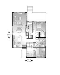 Modern Family Dunphy House Floor Plan by Modern House Plans 1 Floor House Modern