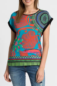 Desigual Home Decor by Desigual Amaia T Shirt Top From Hawaii By Hurricane Limited