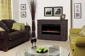 50 Electric Fireplace by Markus Electric Fireplace Media Console W Acrylic Ice In Tamarind