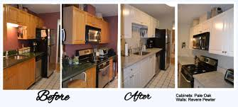 Refinishing Kitchen Cabinets Kitchen Cabinet Refacing Before And After Photos Google Search