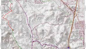 Antelope Canyon Arizona Map by Black Canyon Trail Coalition Black Canyon Trail Maps