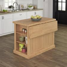 Kitchen Island With Chopping Block Top Home Styles Nantucket Maple Kitchen Island With Storage 5055 94