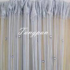 beaded room dividers aliexpress com buy tangpan 100cmx200cm 7 colors round pearl