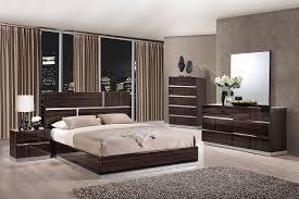 White Shiny Bedroom Furniture Tribeca Wood Grain Glossy Bedroom Set By Global Furniture