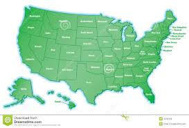Untied States Map United States Map Royalty Free Stock Photo Image 465335