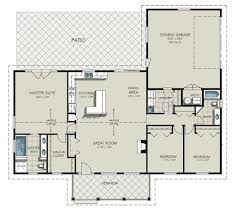 Ranch House Plan by 3 Bed Ranch House Plans Home Act