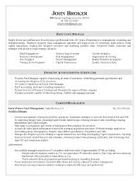 Management Consultant Resume Sample by Property Consultant Resume Resume For Your Job Application