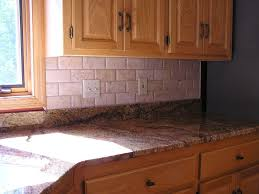 travertine kitchen backsplash design elegance of travertine