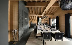 Images Of Home Interiors by Inspiring Modern Chalet Interior Design From French Alps