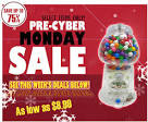 Pre-CYBER MONDAY Deals!! « candymachines.com blog – Gumball Banks ...