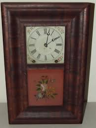 Ansonia Mantel Clock Antique 1860 U0027s Miniature Ansonia Brass Co Ogee Og Mahogany