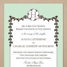 English Invitation Card Christian Wedding Invitation Card Format In English Archives