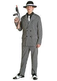 1920 Halloween Costumes Teen Deluxe Gangster Costume