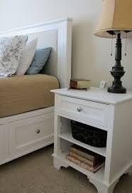 White Bedroom Furniture Design Best 10 White Nightstand Ideas On Pinterest White Bedroom