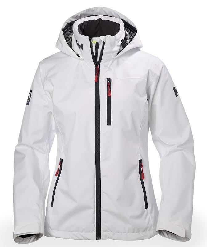 Helly Hansen Crew Hooded Midlayer Jacket 33891 White S